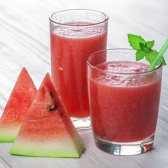 Watermelon Mint Smoothie [Rezept]